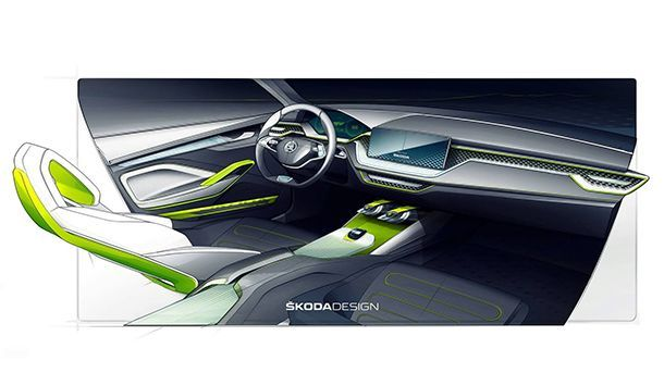 Skoda เปิดทีเซอร์ Vision X Concept