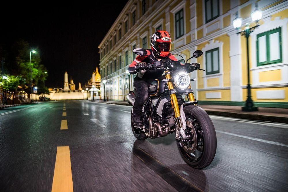 ทดสอบ Ducati Scrambler 1100 รถบิ๊กไบค์สไตล์คลาสสิก กลิ่นอายยุค 60′