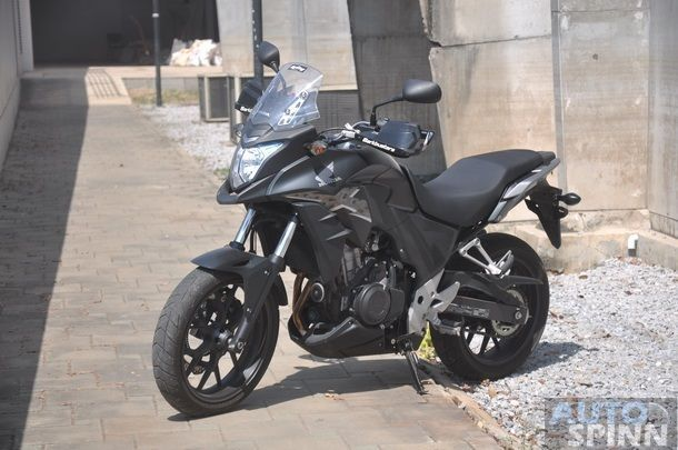 Honda CB500X TestRide 89