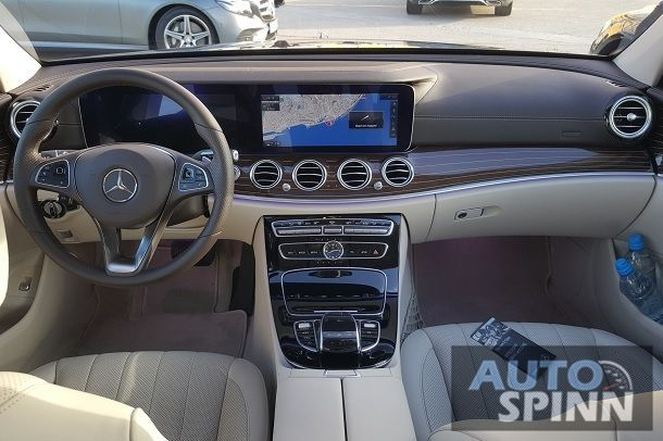 2016 Mercedes-Benz E220d console