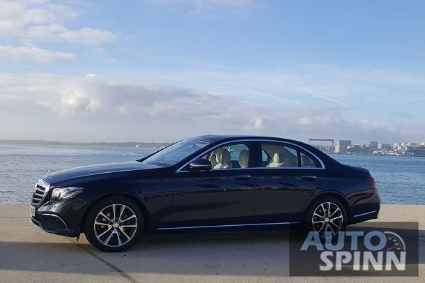 2016 Mercedes-Benz E220d side