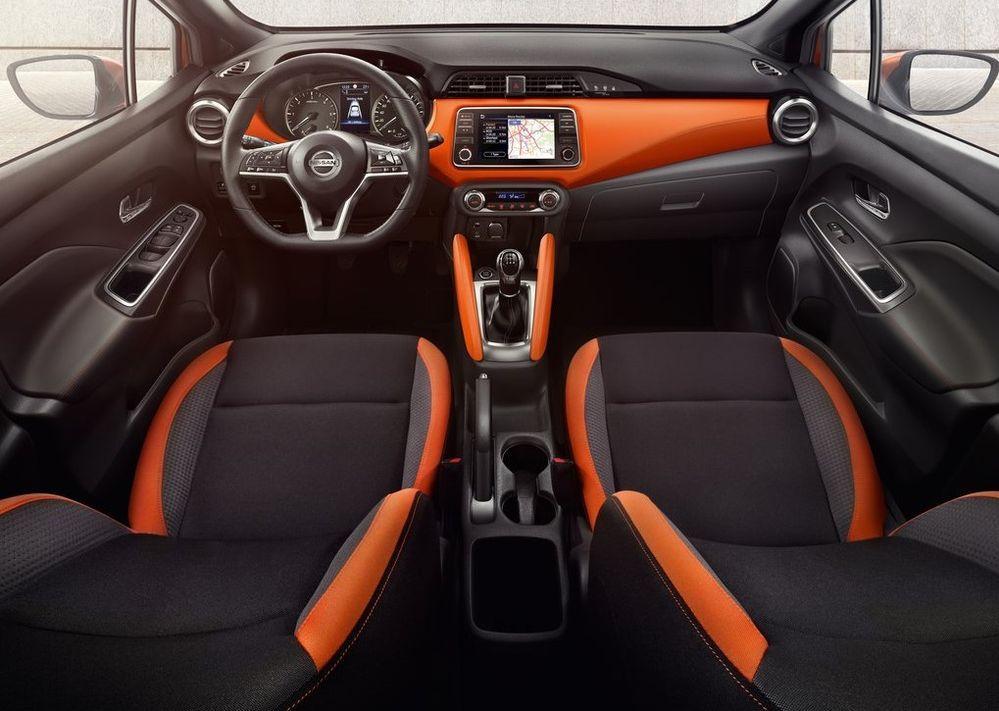 ภายใน All New Nissan March 2021