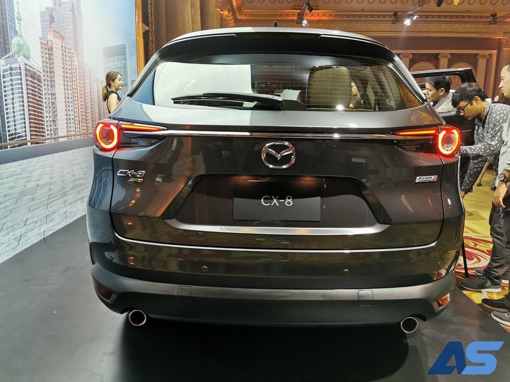 เปิดตัว All New Mazda CX8
