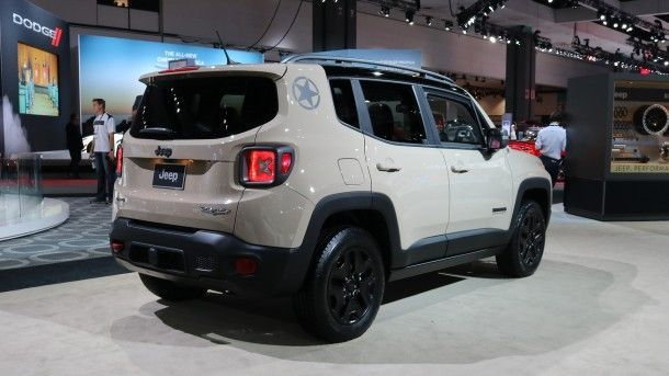 Jeep Allegedly Working On Sub-Renegade SUV