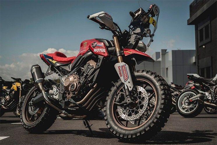ฮอนด้า CB650R Rally