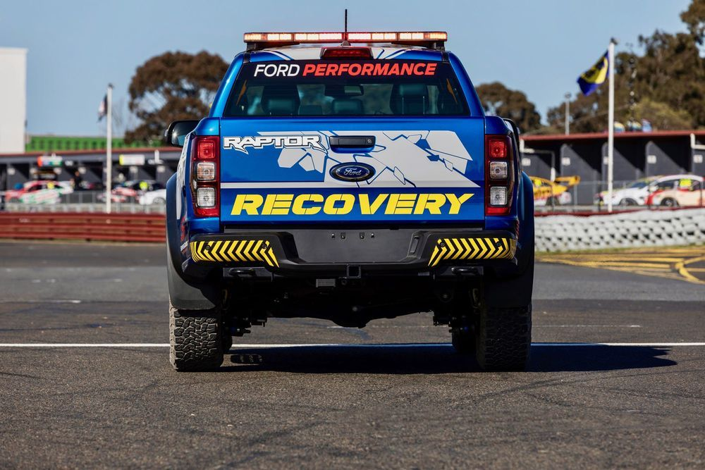 รถกู้ภัย Ford Ranger Raptor
