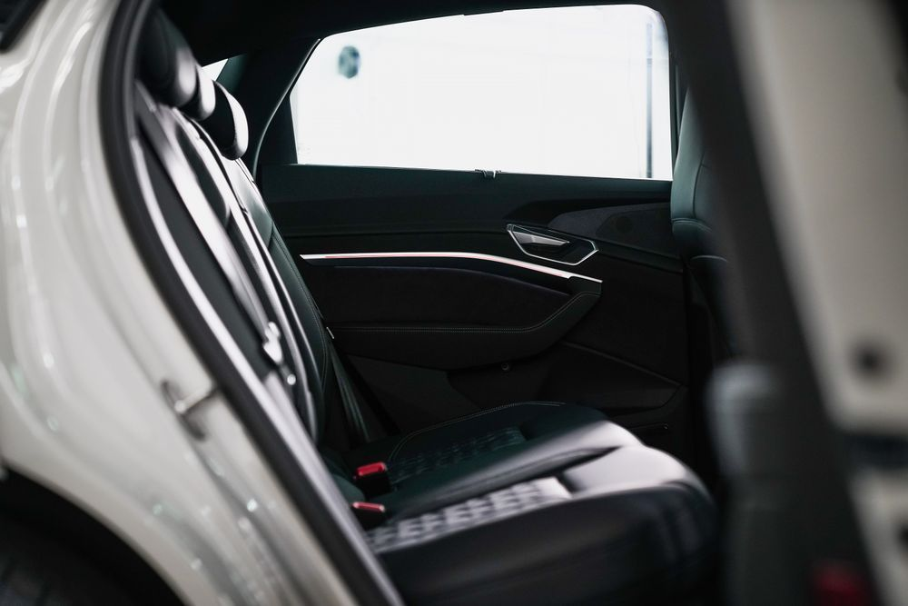 ดีไซน์ภายใน Audi e tron Sportback 55 quattro S line