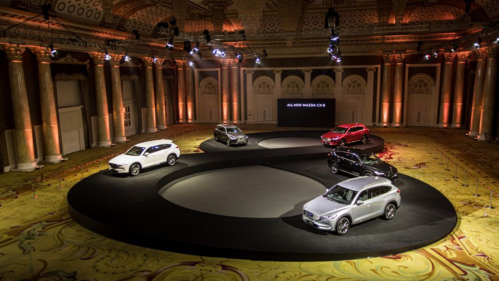 All New Mazda CX 8 พร้อมสเปค และราคาในแต่ละรุ่น