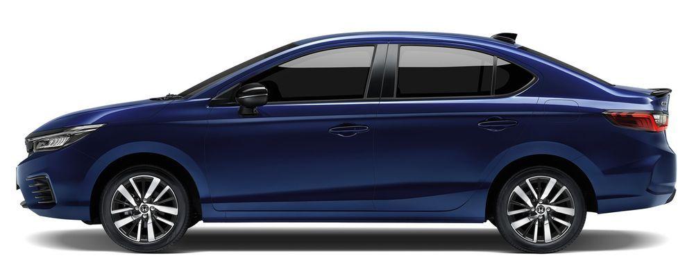 Honda City Hybrid e:HEV 2021 สีใหม่ สีน้ำเงินออบซิเดียน