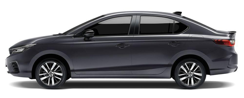 Honda City Hybrid e:HEV 2021 สีเทาโมเดิร์นสตีล