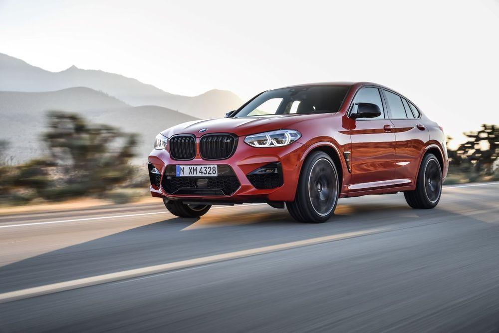 BMW X4 M ใหม่