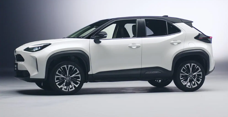 Toyota Yaris Cross สีขาว