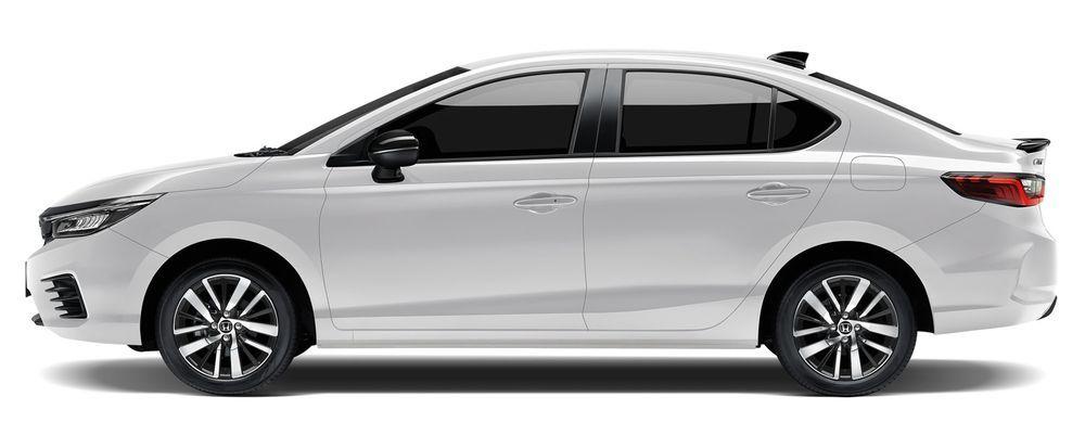 Honda CityHybrid e:HEV 2021 สีขาวแพลทินัม