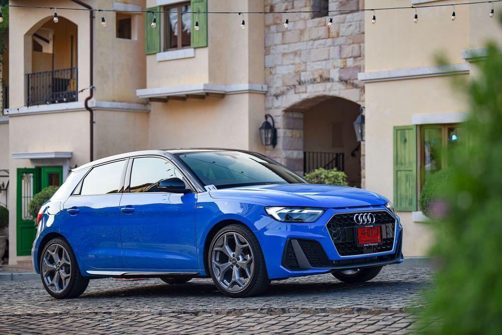 รีวิว The New Audi A1 Sportback 35 TFSI S line
