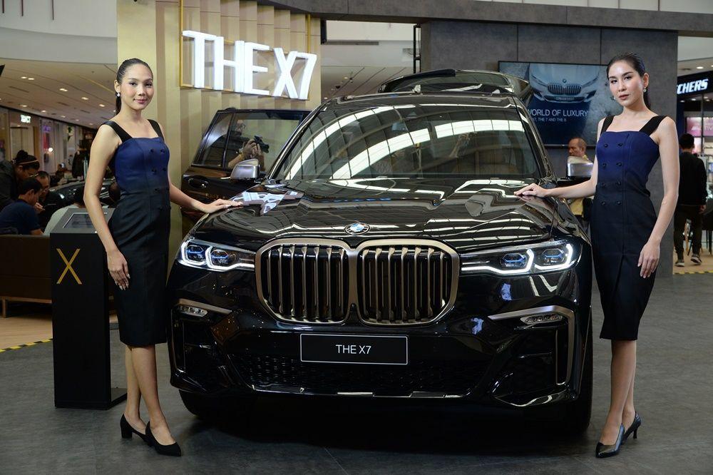 ทดสอบ BMW X7 M50d
