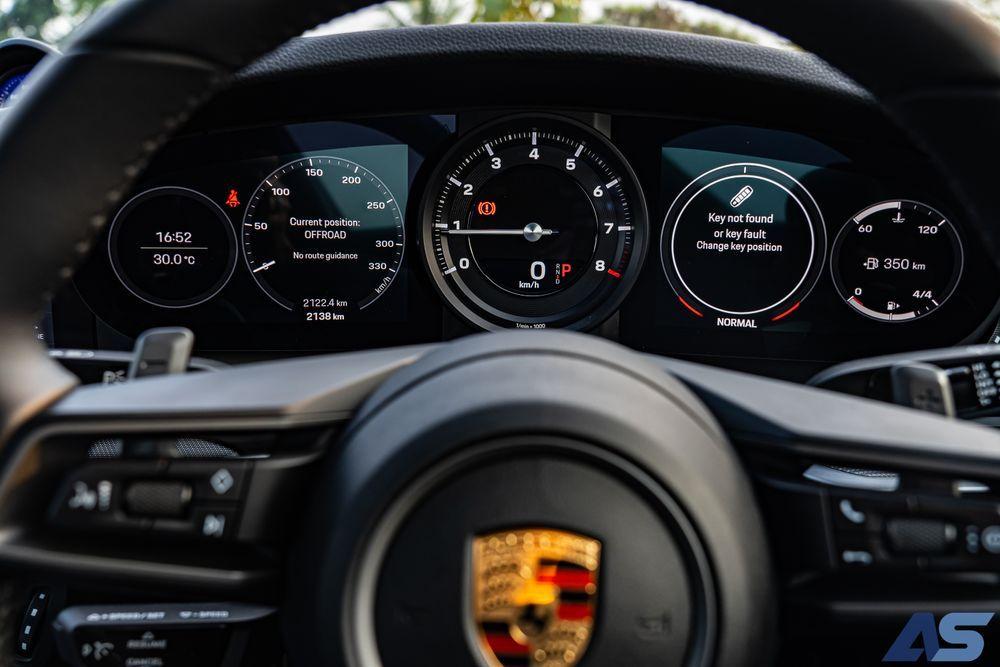 หน้าปัด 911 Carrera