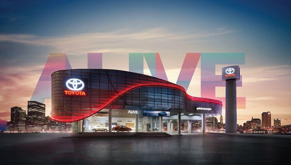 Toyota ปฏิวัติโชว์รูมแบบใหม่ ALIVE SPACE สอดรับไลฟ์สไตล์คนรุ่นใหม่ เน้นแนะนำรถมากกว่าฮาร์ดเซลล์