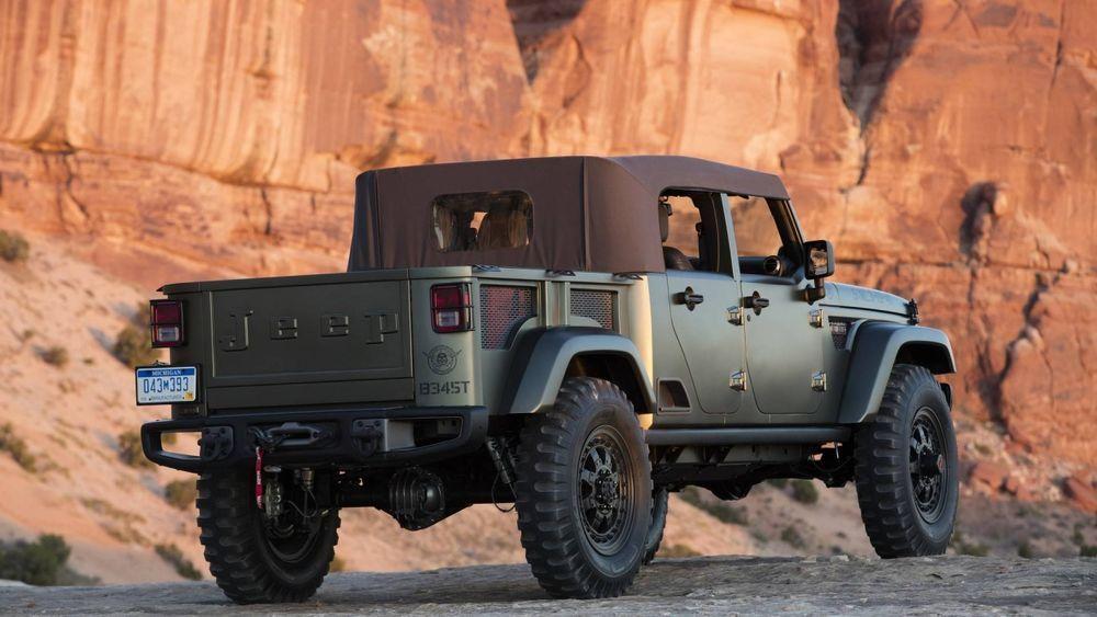 2019 Jeep Scrambler Pickup Truck