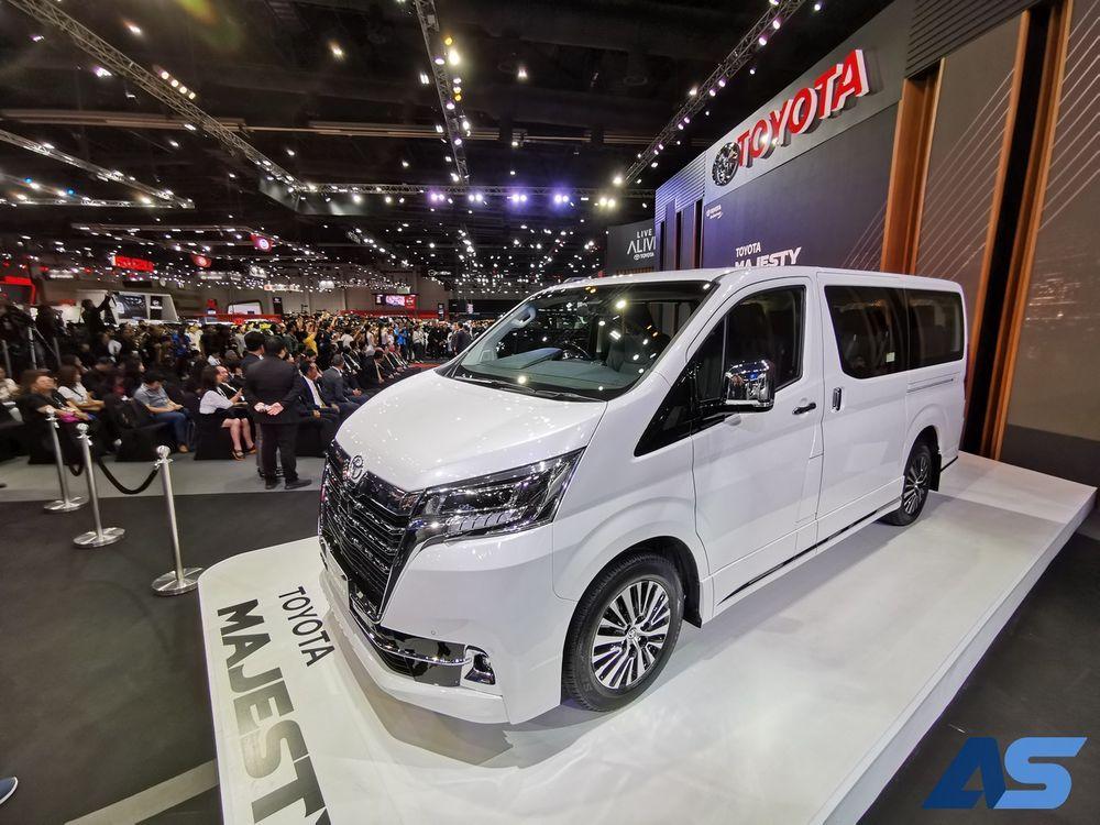 New Toyota Majesty 2019