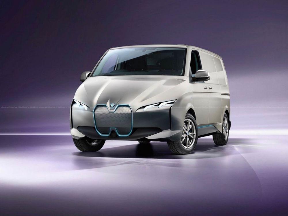 bmw supercar van