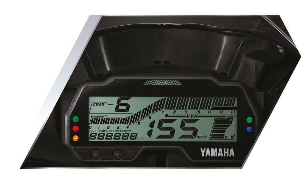 Yamaha R15 2020 Dashboard