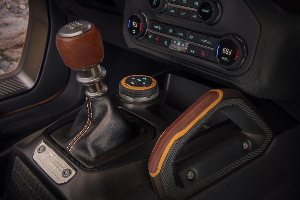 เกียร์ Ford Bronco 2021