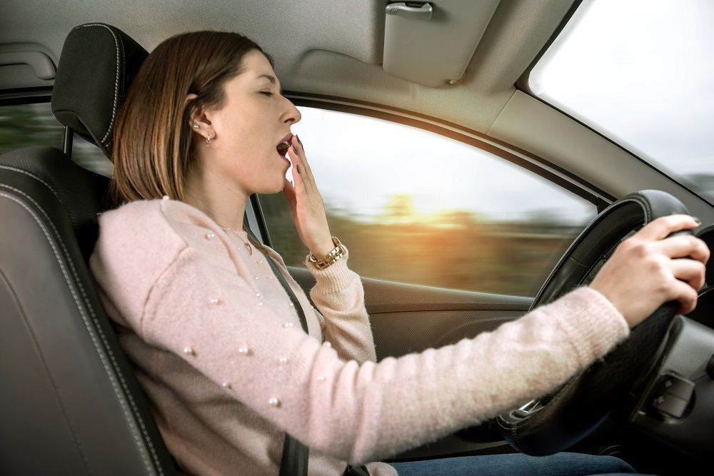 วิธีแก้ง่วงตอนขับรถ