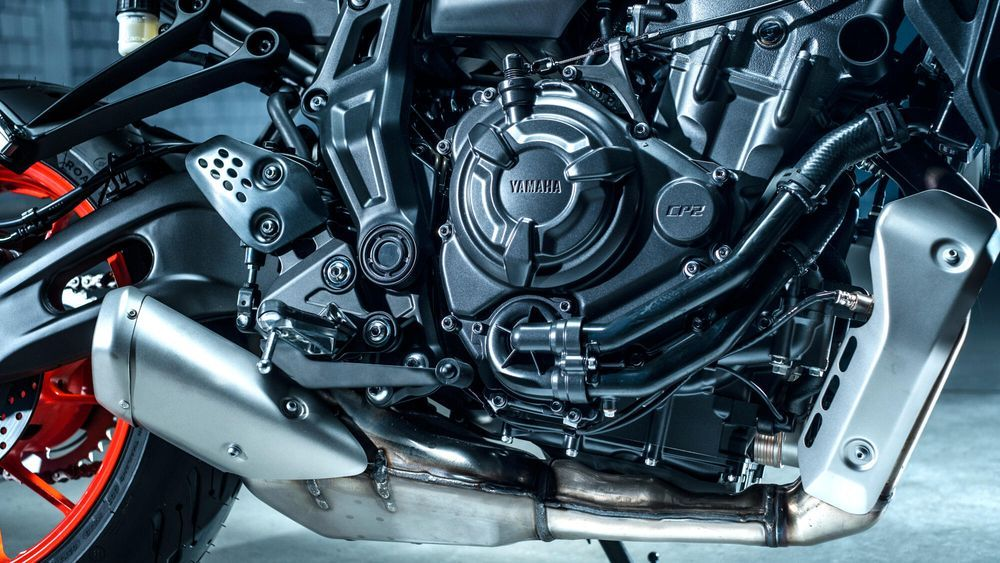 Yamaha MT-07 2021 Engine