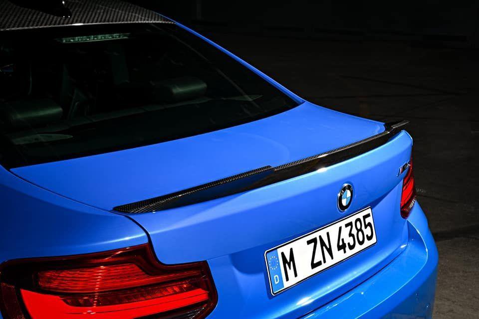 สมรรถนะที่เพิ่มขึ้นของ BMW M2 CS