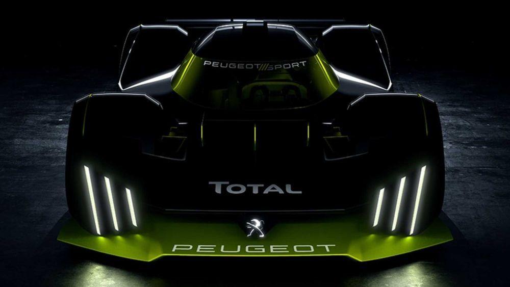 หลุด Peugeot Le Mans Hypercar