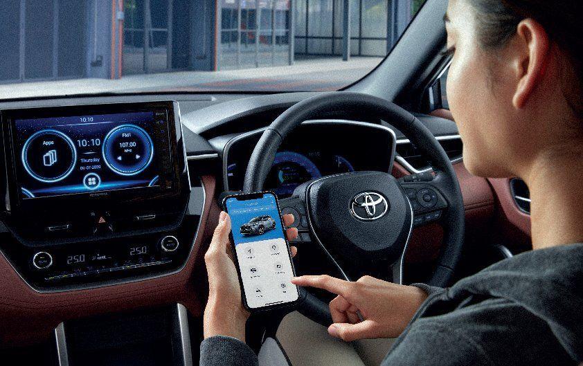 หน้าจอ ToyotaCorolla CROSS