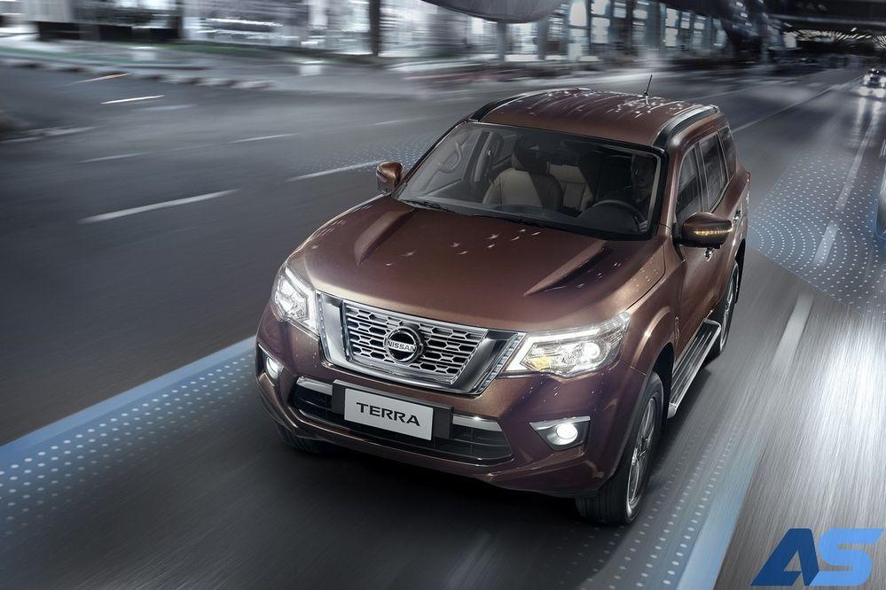 ระบบความปลอดภัย Nissan Terra