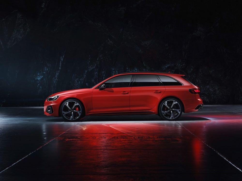 New Audi RS 4 Avant quattro 450 แรงม้า