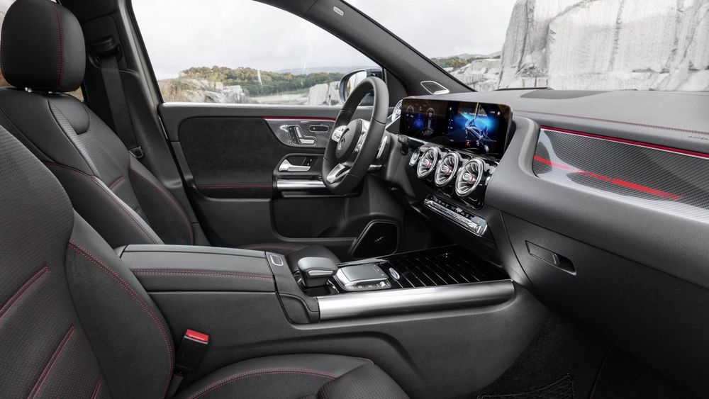 All new Mercedes Benz GLA