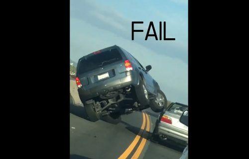 Ford พลาดเสียหลักทับ BMW