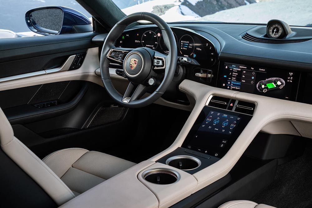 รถยนต์ไฟฟ้า Porsche Taycan