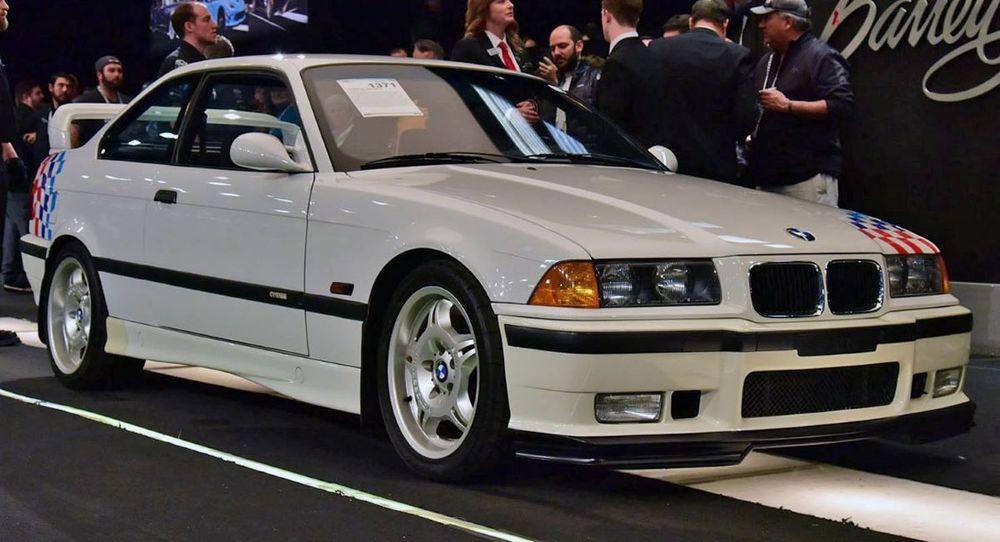 ประมูล BMW M3 E36 ของ Paul Walker