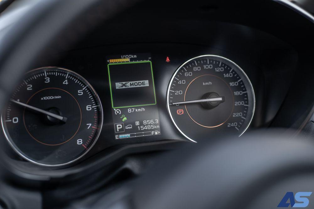 การขับขี่ Subaru xv
