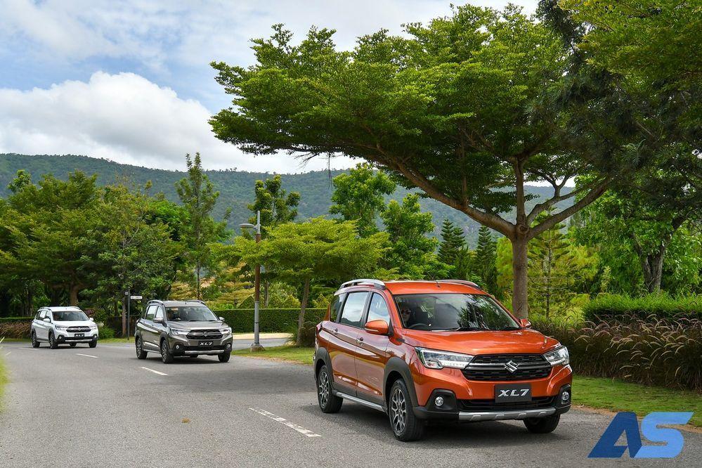 เริ่มการทดสอบAll New Suzuki XL7