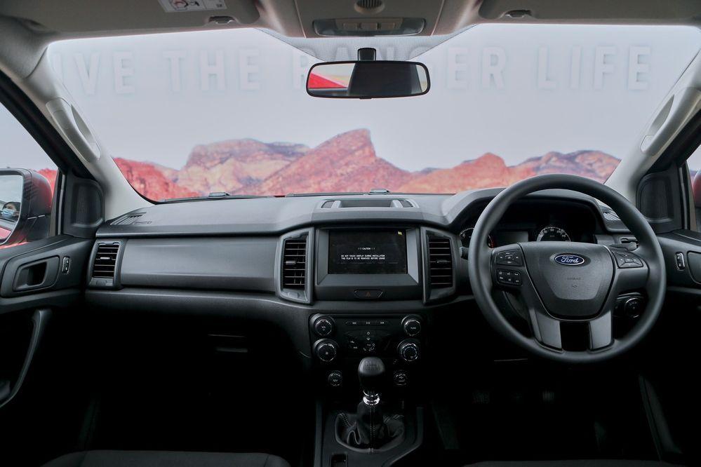 inside Ford Ranger XL Sport