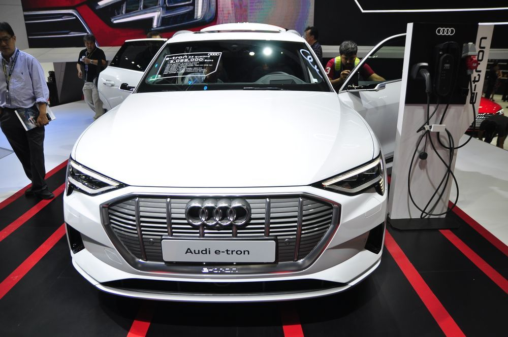 รถยนต์ไฟฟ้า Audi e-tron