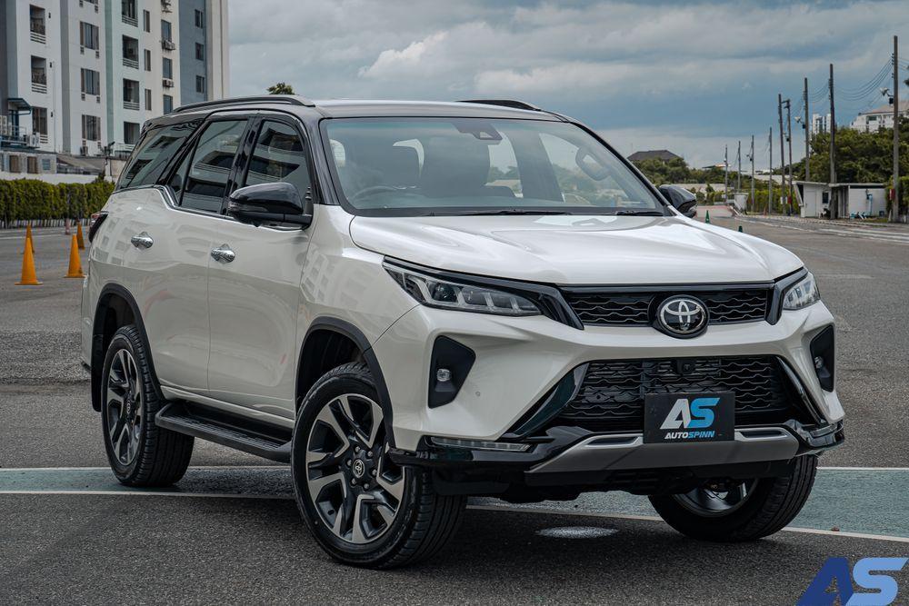 Exterior Design Toyota Fortuner