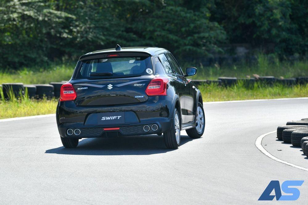 test drive Suzuki Swift