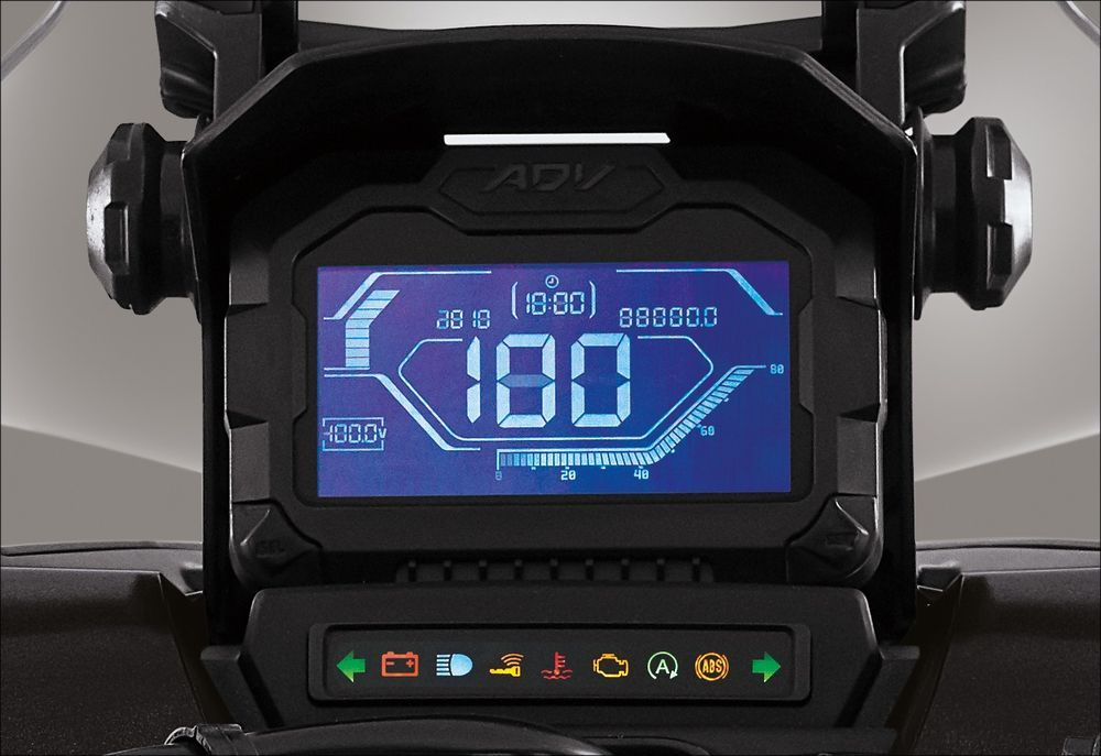 Honda ADV150 Dashboard