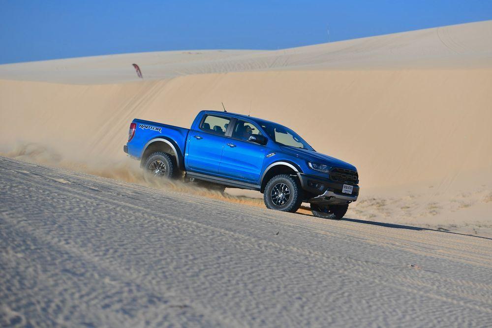 Ford Ranger Raptor 2020 ขับทดสอบ