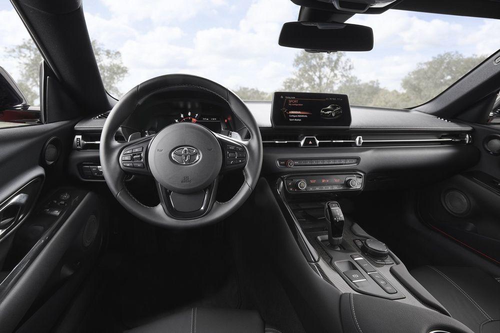 ภายใน Toyota GR Supra