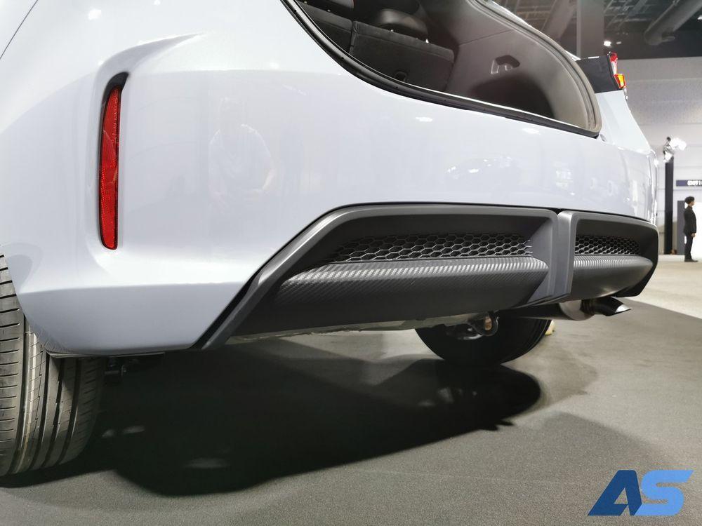 ภายนอก Honda city hatchback 2021