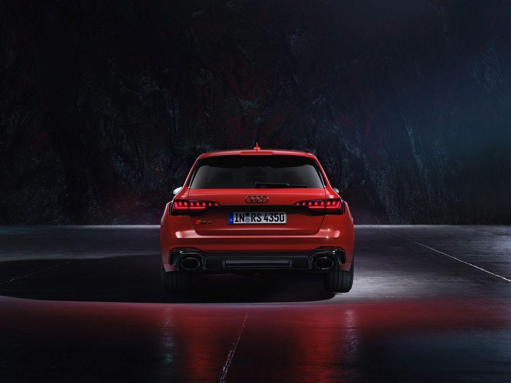 New Audi RS 4 Avant quattro
