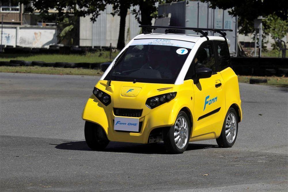 รถยนต์ไฟฟ้า FOMM ONE