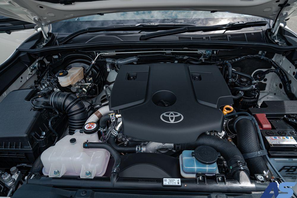 เครื่องยนต์ใหม่ Toyota Fortuner
